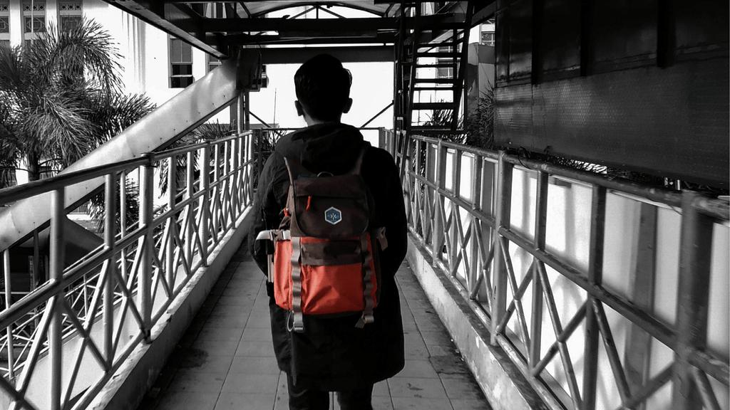 memilih tas